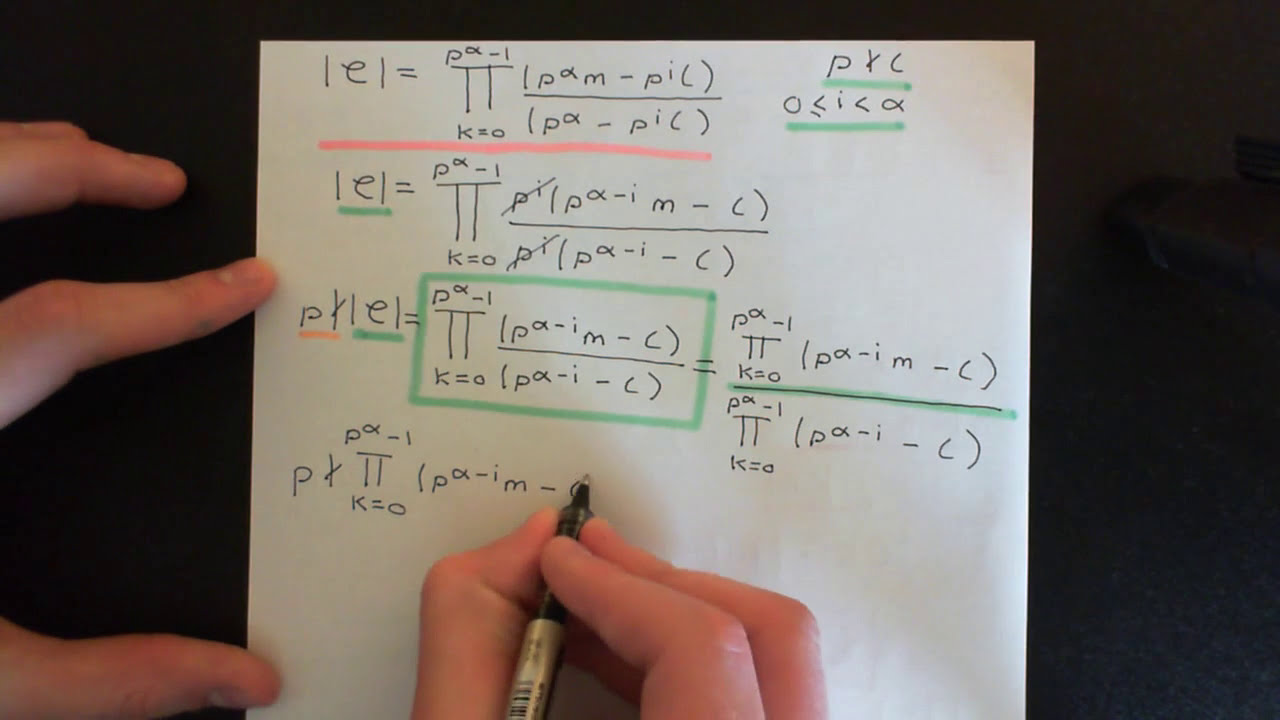 sylow theorems P-groups, p-sylow subgroups & cauchy's theorem (another proof of abelian  case)   the first p-sylow theorem and its generalization.