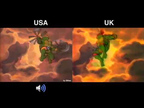 Teenage Mutant Ninja/Hero Turtle original titles comparison
