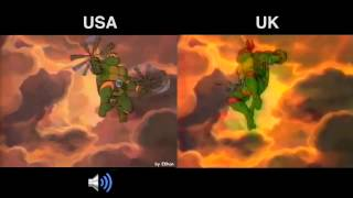 Teenage Mutant Ninja/Hero Turtle original titles comparison