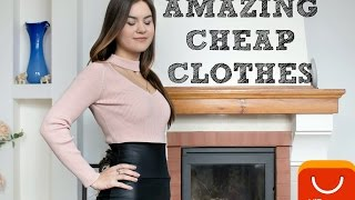 ALIEXPRESS HAUL| Cheap pretty clothes, my review.