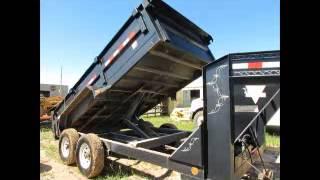 For Sale 2010 PJ DJ Low Pro Tandem Axle Hydraulic Dump Trailer With bidadoo.com