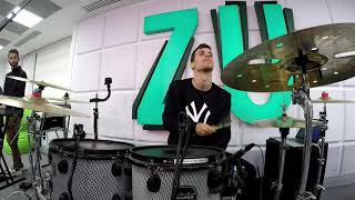 Carla#39s Dreams - Ne topim Mario Fresh #cover drum cam at Radio ZU