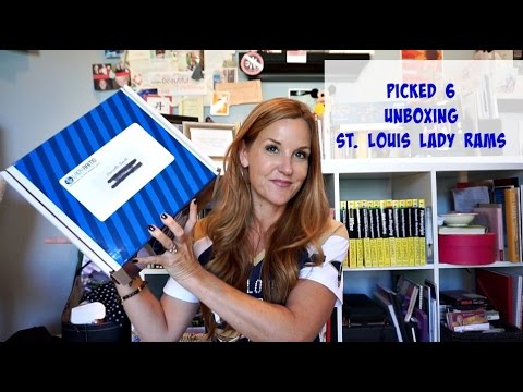 St  Louis Rams and Lady Rams September Picked 6 Unboxing