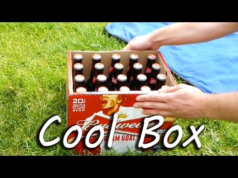 Cold Beer - Simple Cool Box Life Hack