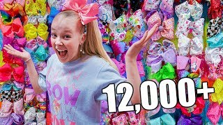 MY COLLECTION OF JOJO BOWS!!! (12,000+)