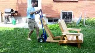 Lawn Chair Hand Truck Picker Upper / Mover
