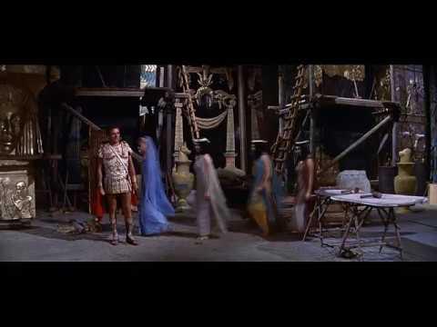 Cleopatra 1963 - HD clip