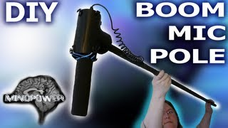 How To Build A Diy Shock Mount Boom Mic Pole - Filmriot Style - Mindpower009