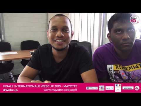 Interview de la Team Seychelles - Finale Webcup 2015 à Mayotte