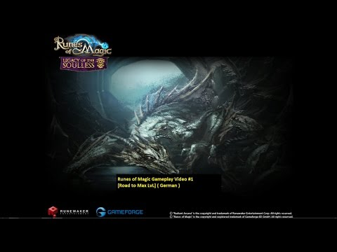 Runes of Magic Gameplay Video #1 [Road to Max LvL] ( German )