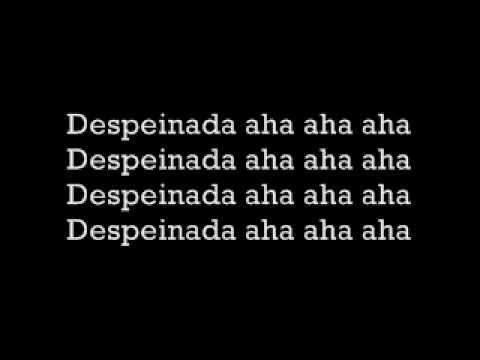 Los Hooligans- Despeinada Letra