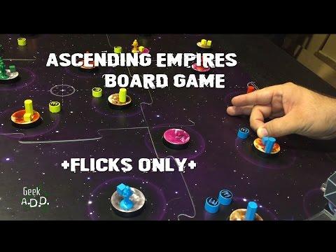 Ascending Empires Board Game, flicks only!
