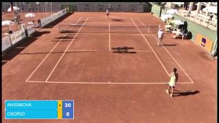 semifinal Gerdau 2017 Camila OSORIO SERRANO vs Amanda ANISIMOVA