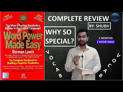 word power made easy book review | how to read it |vocabulary