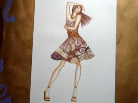Abiti e disegni youtube for Disegni di casa alla moda