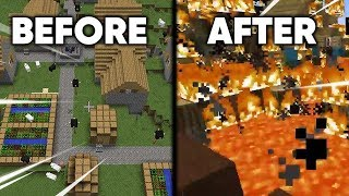i gave my viewers 24 hours to build a minecraft society