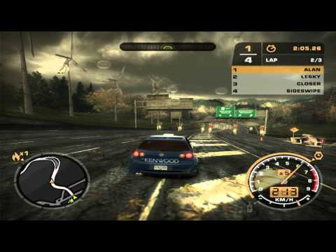 Need For Speed: Most Wanted (2005) - Race #4 - Petersburg (Circuit)