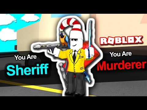 HOW TO BE MURDERER AND SHERIFF AT THE SAME TIME!! (Roblox Murder Mystery 2)