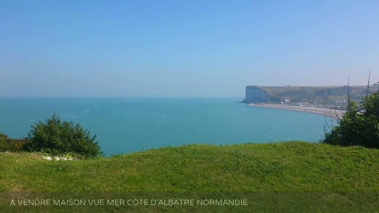 A vendre maison vue mer cote d 39 albatre normandie for Acheter une maison en normandie bord de mer
