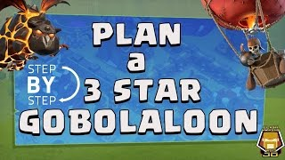 TH 9 GOBOLALOON Plan The Best 3 Star Attack Strategy | Clash of Clans