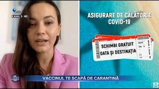 Stirile Kanal D (04.04.2021) - Vaccinul te scapa de carantina  | Editie de pranz