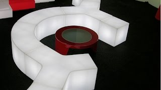 Cubo Luminoso Sl-llc105-01,led Sofa, Led Stool, Led Furniture
