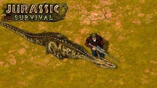 Охота на МЕГАЛОЗАВРА - Jurassic Survival