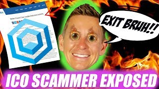 😱 MODERN FINANCE CHAIN ICO EXIT SCAMMER EXPOSED!!