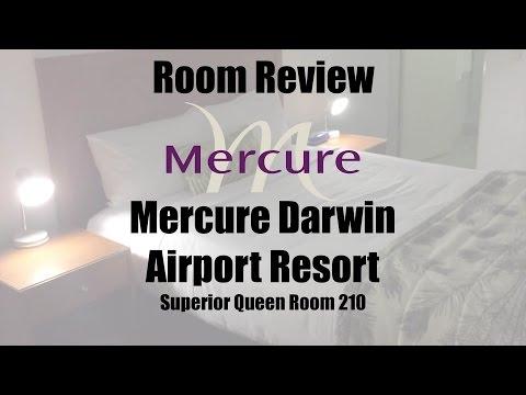 Mercure Darwin Airport Resort Superior Queen Room 210 - Review and Walkthrough