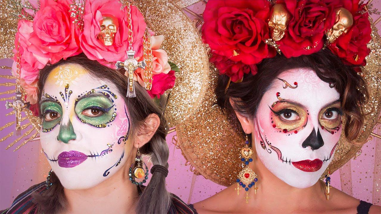 Dia De Los Muertos Makeup Looks