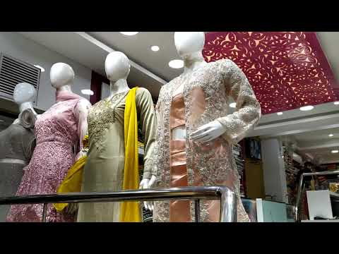 Her appeal Womens ethnicwear showroom in India.Designer indo Western,Lehengas,Partywear Gowns Kurtis