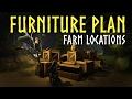 ESO Homestead: Furniture Plan Farming Locations for the Elder Scrolls Online (ESO)