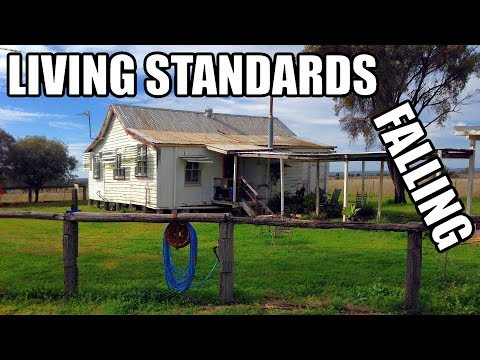 Australian Living Standards Are Falling (GDP Per Capita Heading For Recession)