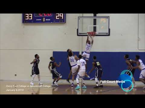 Henry Ford College vs Schoolcraft College Jan.6,2018