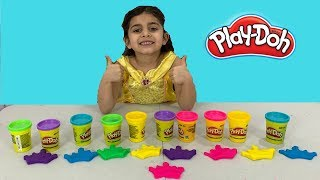 Making Play-Doh Princesses Toy!!