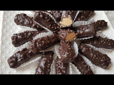 جديد حلوى سيكار روشيه بدون فرن ب 3 مكونات فقط اقتصادية لذيذة جدا