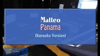 Cover images Matteo - Panama (KARAOKE VERSION NO VOCAL)