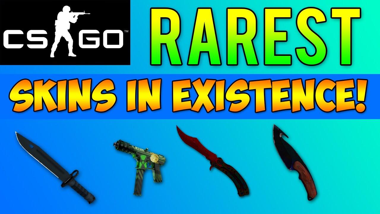 cs go the rarest