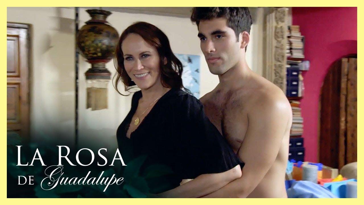 Cassandra se acuesta con Sebastián quien es menor que ella | De cuna humilde | La Rosa de Guadalupe