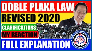 Cover images Doble Plaka Law 2020 | Full Explanation | Clarifications | My Reaction