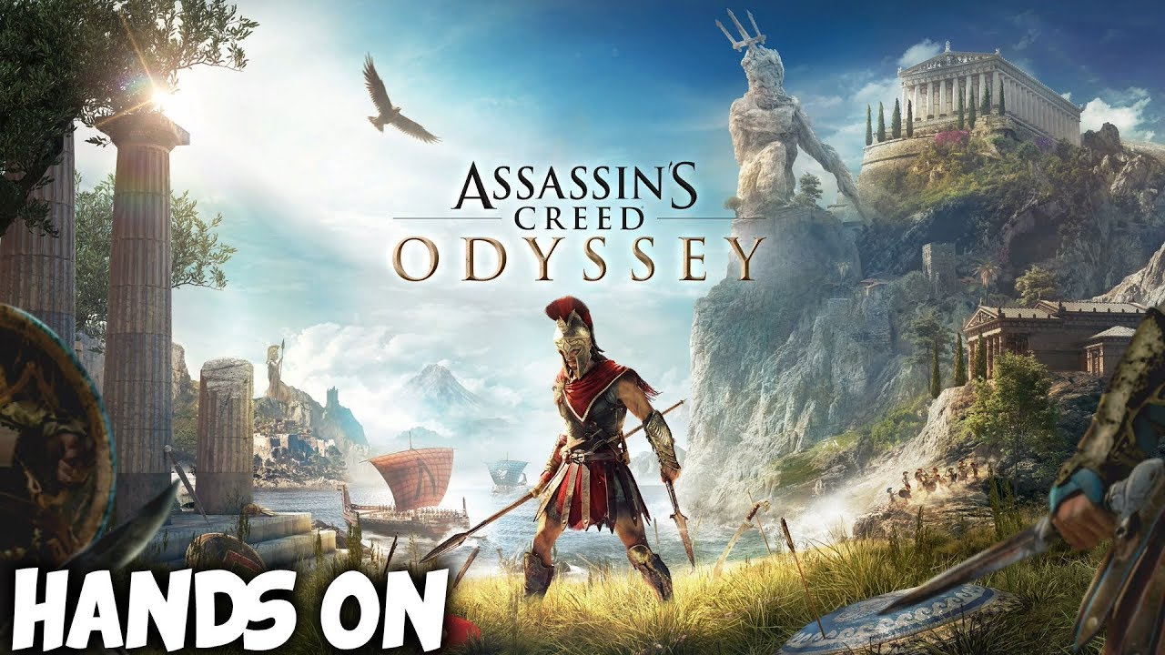 Hands On Assassin S Creed Odyssey Ps4 Pro Gameplay Youtube