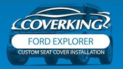 How to Install 2016-2019 Ford Explorer Custom Seat Covers   COVERKING®