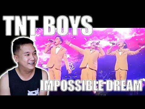 TNT Boys - The Impossible Dream (TNT Boys Listen World Tour Concert) | Reaction | YongBaeTV