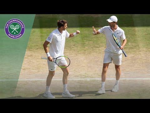 Mahut/Roger-Vasselin vs Dodig/Polasek Wimbledon 2019 semi-final highlights