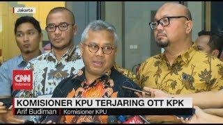 Komisioner KPU Terjaring OTT KPK