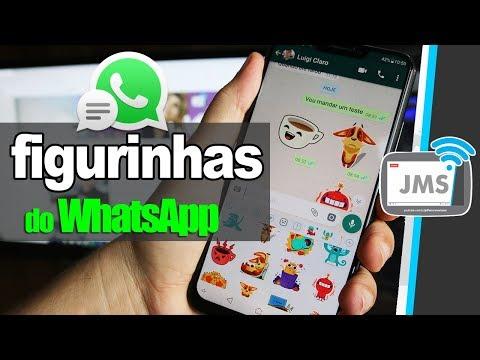 WhatsApp Como ATIVAR e INSTALAR mais Figurinhas e Stickers