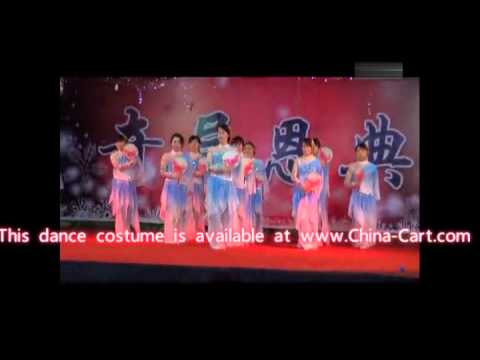 Chinese Classical Christmas Fan Dance to thank God