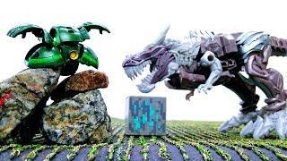 Динобот на планете Кибертрон – Кому достанется Энергон? – Игры с Трансформерами.