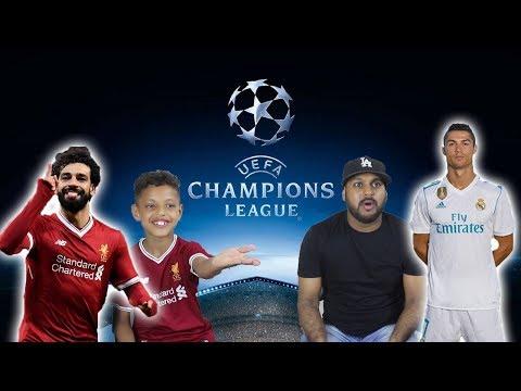 LIVERPOOL VS REAL MADRID | UEFA CHAMPIONS LEAGUE FINAL 2018 | FIFA VS MY DAD