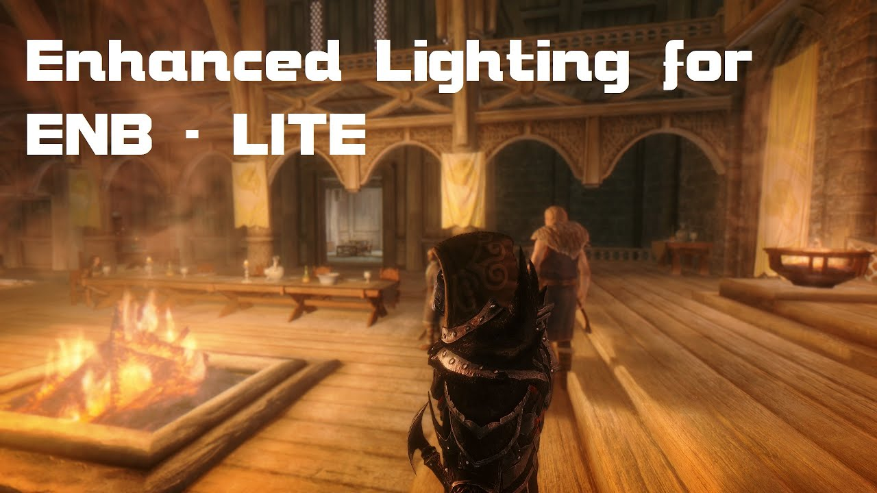 Skyrim Mod: Enhanced Lighting for ENB (ELE) - LITE